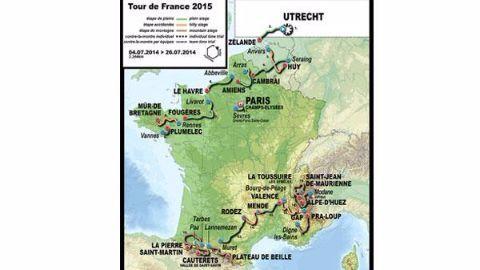 2015 edition of Tour de France