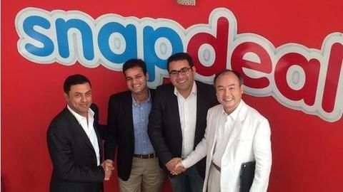 Snapdeal funding,Snapdeal funding from Softbank