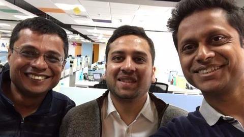 Binny Bansal named new CEO of Flipkart