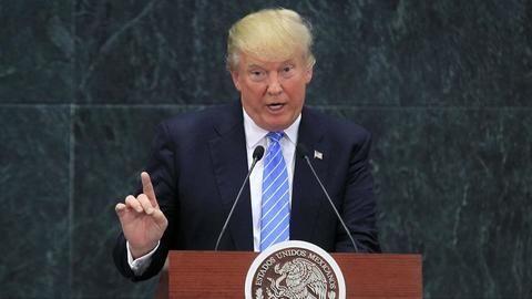 Trump denies Russia has compromising evidence against him