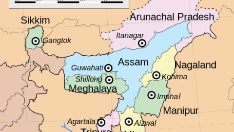The formation of NSCN