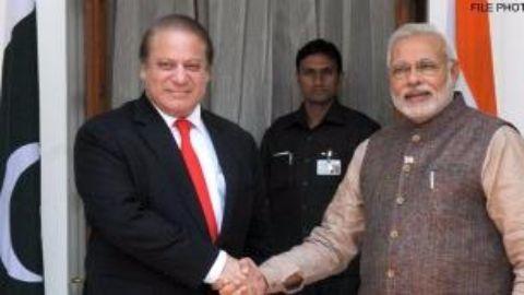 Modi-Sharif hold bi-lateral talks