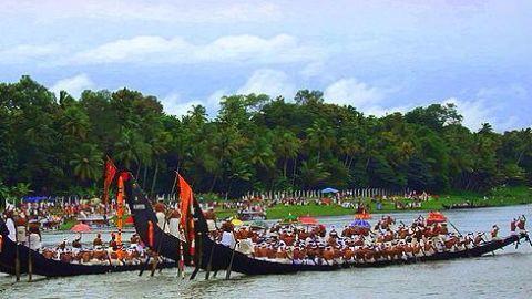 Onam's legendary snake boat race