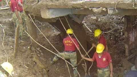 Two of three trapped workers rescued in Bilaspur