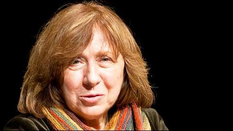 Journalist Alexievich rebukes Belarus elections