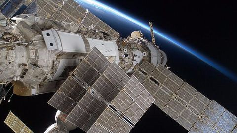 The expansion of the ISS over the years