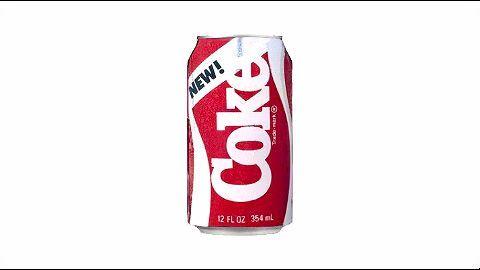 New Coke a marketing failure