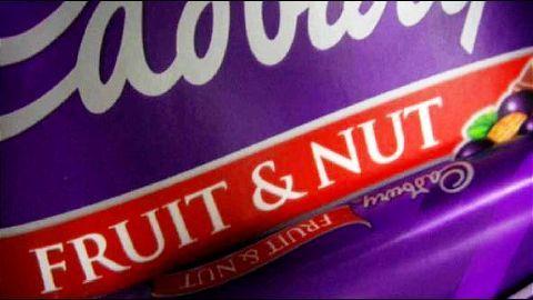 Cadbury set to change 'Fruit & Nut' recipe