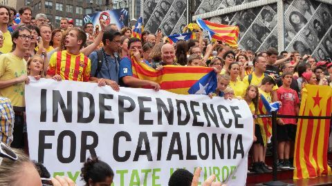 Catalonian assembly votes for secession from Spain