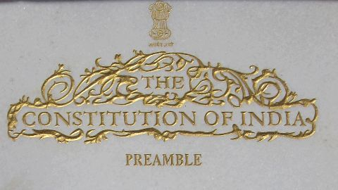 PM Modi greets India on first Constitution Day
