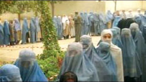 Restrictions on the women candidates and voters