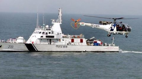 Coast guards say debris, bodies not recovered