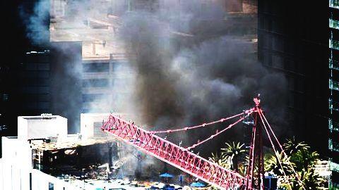 Tamweel Tower in Jumeirah catch fire displacing hundreds