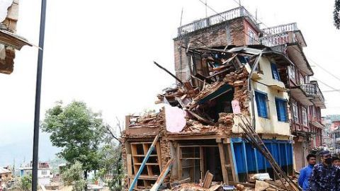 Earthquake shakes Manipur