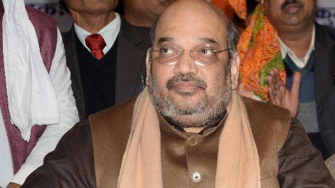 Amit Shah set for full time BJP presidency