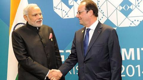 French President to be the chief guest