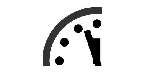 Doomsday Clock: It's 3 minutes to midnight