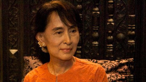 Suu Kyi to be Myanmar Foreign Min
