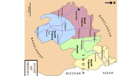 AFSPA extended by 6 months in Tripura