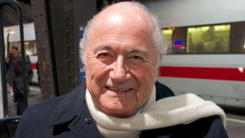 Sepp Blatter wins the FIFA Presidential race