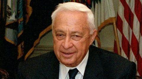 Israel PM Ariel Sharon visits India