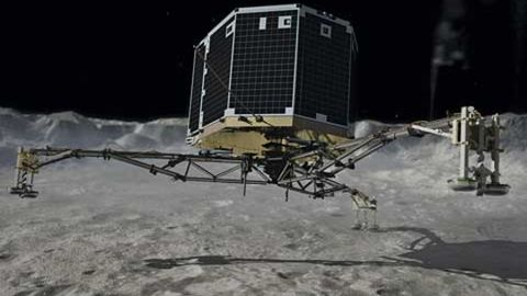 Philae may start working in spring again!