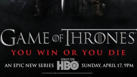 Game of Thrones makes it TV debut