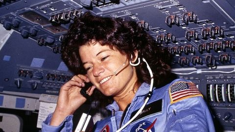32 years ago, Sally Ride made history!