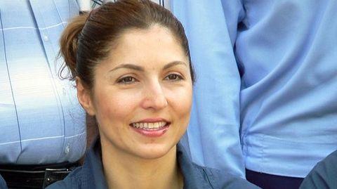 First Muslim woman aboard - Anousheh Ansari