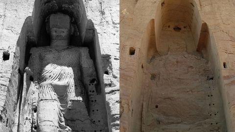 Destruction of Bamiyan Buddhas