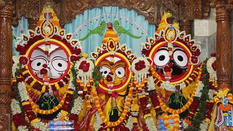 Jagannath's Nabakalebara festival
