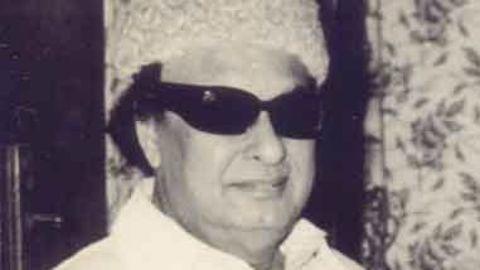 MGR's sickness changes Tamil Nadu politics