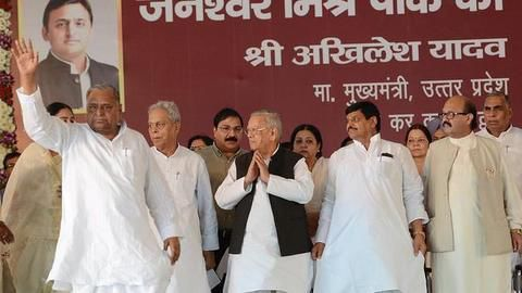 Mulayam: CM to be decided by the party legislators