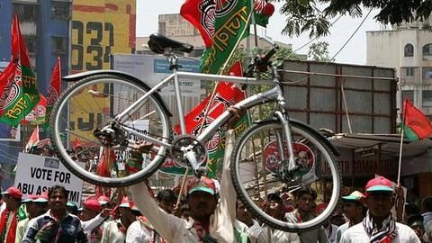 SP Convention announces Akhilesh to be the new party chief