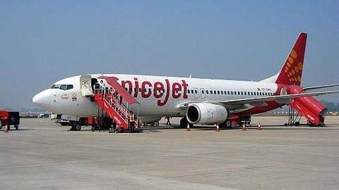 SpiceJet flight made an emergency landing at Delhi Airport