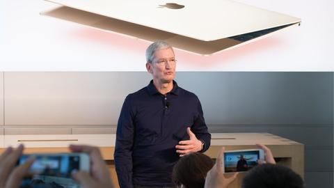 Apple cuts CEO Tim Cook's salary for missing sales targets