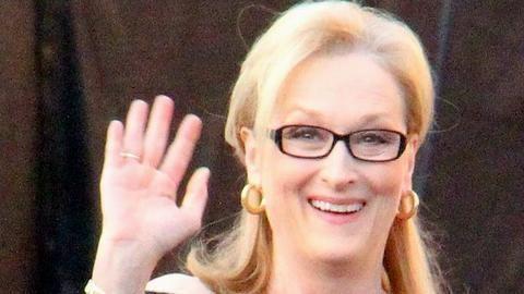 Meryl Streep awarded for lifetime achievement