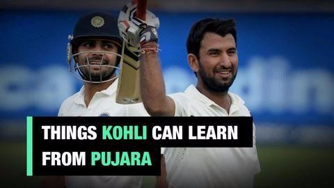 Virat Kohli versus Cheteshwar Pujara