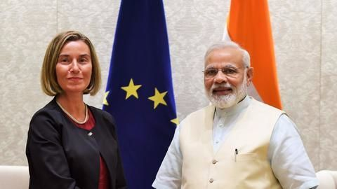 EU, India agree to boost cooperation
