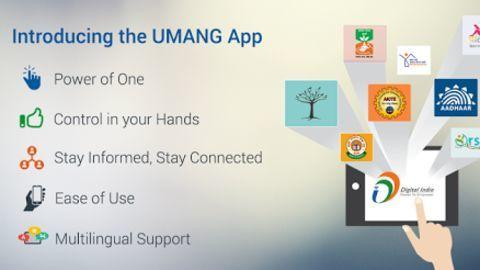 UMANG app provides government services on single platform