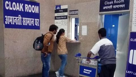 Increase in railway cloak room and locker charges