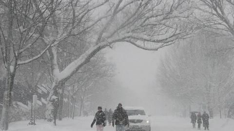Blizzard in Arunachal Pradesh