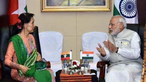 Modi looks to give India-Myanmar ties fresh boost