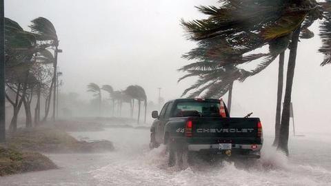 Hurricane Maria following similar path as deadly Irma