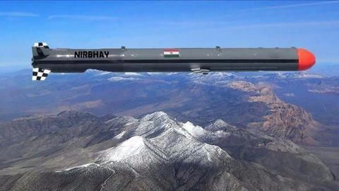 India successfully test fires subsonic cruise missile Nirbhay