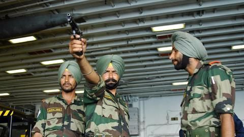 Indian troops raise alertness levels along China border