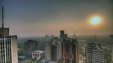 """Delhi once again witnesses """"severe"""" air quality"""