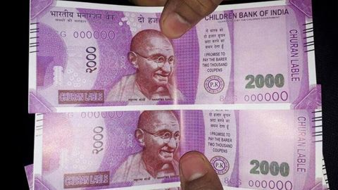 Man gets 'half-printed' Rs 2000 note from ATM in Shaheen Bagh