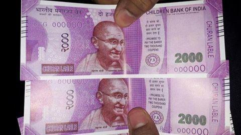 ATM dispenses 'tampered' ₹2000 note, case registered
