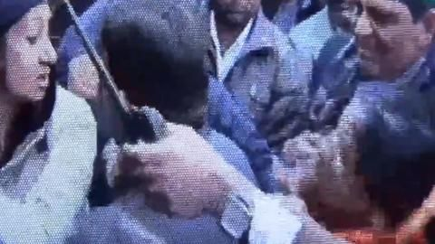Congress MLA slaps constable, slapped back
